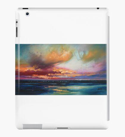 Deep Blue iPad Case/Skin