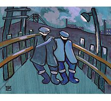 Two coal miners Photographic Print