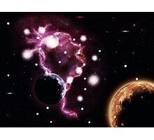 Big pink nebula 2 Photographic Print