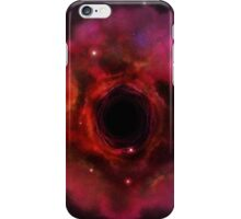 Black hole in the space iPhone Case/Skin