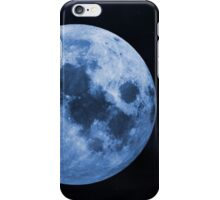 Blue moon 2 iPhone Case/Skin