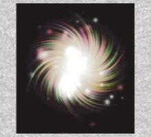 Abstract colorful exploding star Kids Clothes