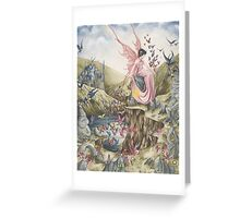 Queen of the Summer Sun Greeting Card