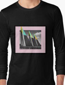 THREE BLOCKS. Long Sleeve T-Shirt