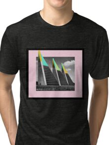 THREE BLOCKS. Tri-blend T-Shirt