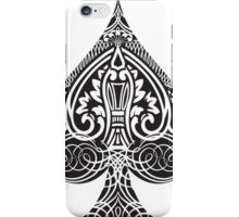 Occults Ace of Spades iPhone Case/Skin