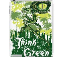 Think Green iPad Case/Skin