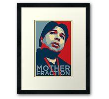 Julio Avasan - Mother Fraction Framed Print
