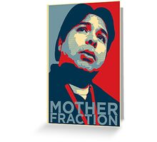 Julio Avasan - Mother Fraction Greeting Card