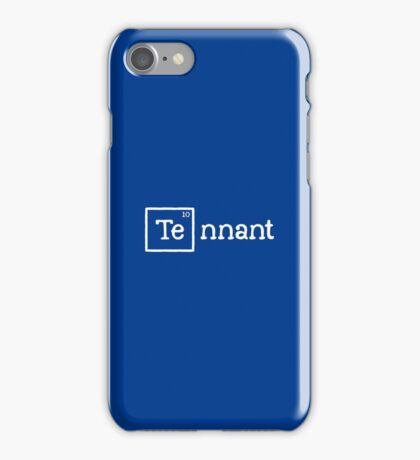 Tennant, the 10th Element iPhone Case/Skin