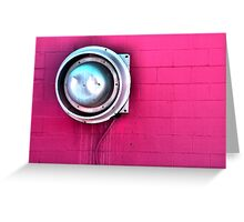 Silver Eye Greeting Card