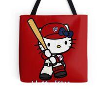 Hello Kitty Washington Nationals Baseball Tote Bag