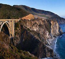Bixby Bridge by jswolfphoto