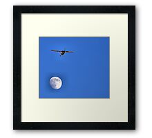 Fly Me To The Moon And Let Me Dance Among The Stars Framed Print