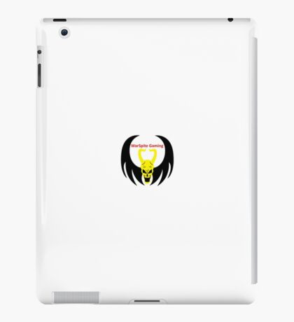 WarSpites Gaming Clan Merchandise (Small Logo) iPad Case/Skin