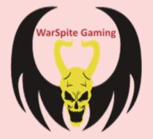 WarSpites Gaming Clan Merchandise (Small Logo) Kids Clothes