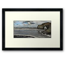 Rendezvous with the First Freezing Winds of the West Coast Framed Print
