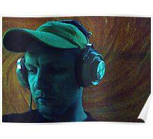 DJ DORS COLOUR MASH RELAX Poster