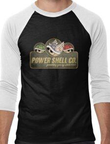 Power Shell Co. Men's Baseball ¾ T-Shirt