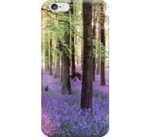 Morning Bluebells iPhone Case/Skin