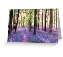 Morning Bluebells Greeting Card