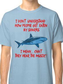 Sharks - Hear The Music Classic T-Shirt