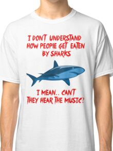 Sharks - Hear The Music Classic T-Shirt