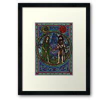Beltane (the Goddess and the God) Framed Print