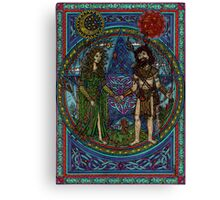 Beltane (the Goddess and the God) Canvas Print