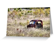 Texas Deer Stand Greeting Card