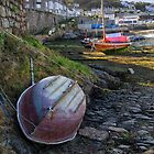 Low tide on the slip by Sue Purveur