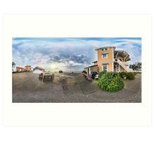 East Brother Island - Panorama Art Print