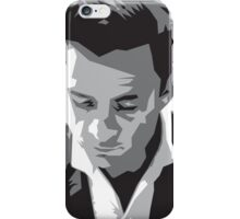 Grayscale Johnny Cash iPhone Case/Skin