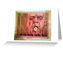 Free Expression Greeting Card