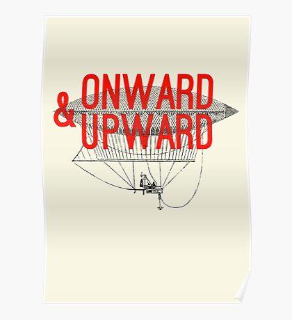Onward And Upward Poster
