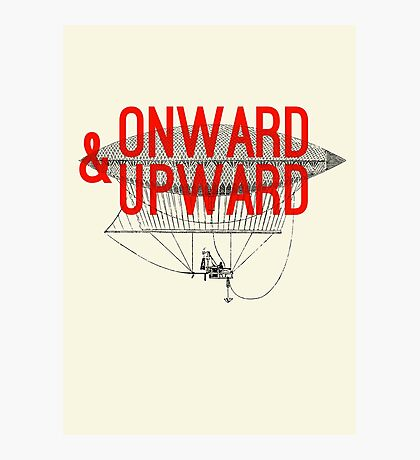 Onward And Upward Photographic Print