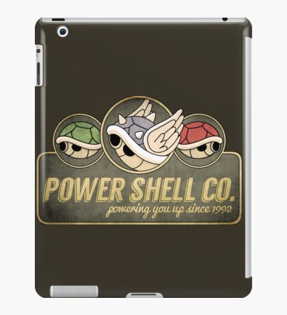 Power Shell Co. iPad Case/Skin