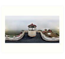 East Brother Island Light Station Art Print