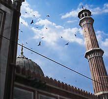 Jama Masjid by Murray Newham