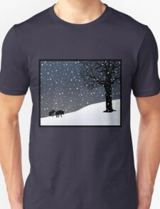 Wolves in the Snow T-Shirt