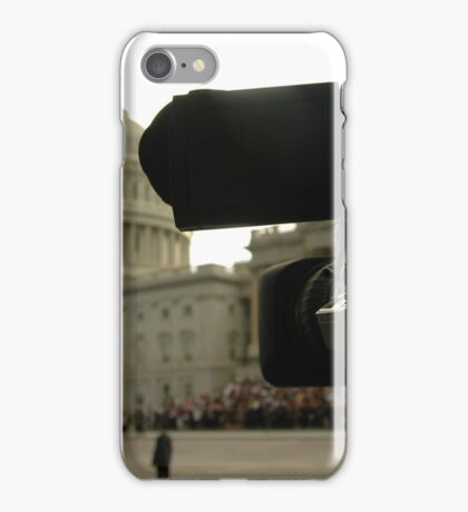 News Media at the US Capitol iPhone Case/Skin