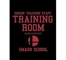 Smash School Training Room (Red) Photographic Print