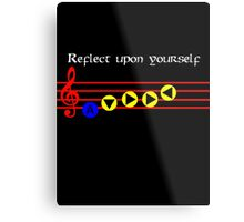 Reflect Upon Yourself - Serenade Of Water Metal Print