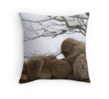 Nitpicking Throw Pillow