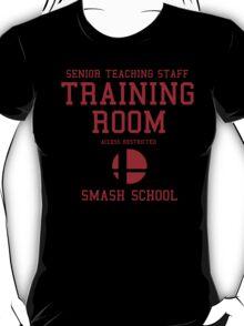 Smash School Training Room (Red) T-Shirt