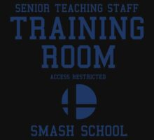 Smash School Training Room (Blue) by Nguyen013
