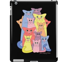 Twelve Cats For Happiness iPad Case/Skin