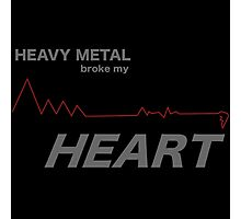 Fall Out Boy - Heavy Metal Broke My Heart Photographic Print