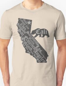 California State Bear (vintage distressed look) T-Shirt