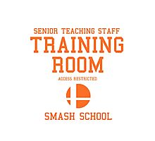 Smash School Training Room (Orange) Photographic Print
